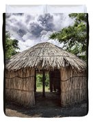 Indigenous Tribe Huts In Puer Duvet Cover