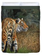 Indo-chinese Tiger Duvet Cover
