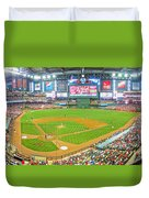 Indoors At Chase Field Duvet Cover