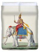 Indra Or Devendra, From Linde Duvet Cover