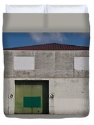 Industrial Building Duvet Cover