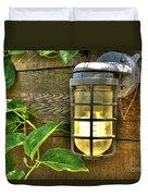 Industrial Outdoor Light Duvet Cover