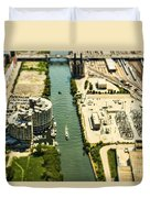 Industrial Riverside Duvet Cover