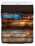 Industrial - The Gantry Crane Duvet Cover