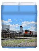 Industrial Train Duvet Cover