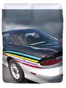Indy 500 Pace Car 1993 - Camaro Z28 Duvet Cover by Gill Billington