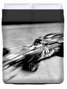 Indy 500 Race Car Blur Duvet Cover