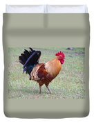 Infamous Kauai Chicken Duvet Cover