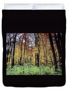 Infared Fall In Indiana Duvet Cover