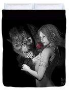 Infatuated  Roses Duvet Cover