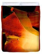 Inferno In Lower Antelope Canyon-az Duvet Cover