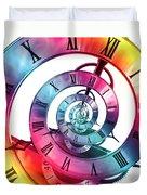 Infinite Rainbow 2 Duvet Cover