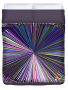 Infinity Abstract Duvet Cover