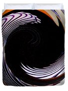 Infinity Feathers 1 Duvet Cover