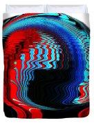 Infinity Mask 3 Duvet Cover