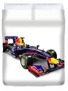 Infinity Red Bull Rb9 Formula 1 Race Car Duvet Cover