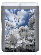 Infrared Pond And Reflections 2 Duvet Cover