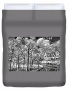 Infrared Stream Duvet Cover