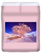 Infrared Tree Duvet Cover