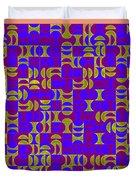 Infused Segments.13 Duvet Cover