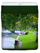 Inistioge Friends Duvet Cover