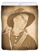 Injured Soldier Duvet Cover