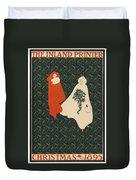 Inland Printer, 1895 Duvet Cover