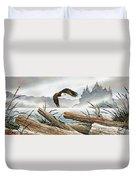 Inland Sea Eagle Duvet Cover