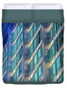 Inland Steel Building Duvet Cover