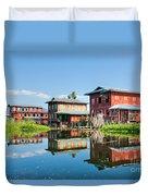 Inle Lake - Myanmar Duvet Cover