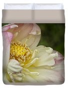 Inner Beauty Of The Lotus Duvet Cover