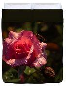 Inner Glow In Pink Duvet Cover