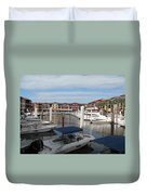 Inner Harbor - Naples Duvet Cover
