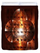 Inner Strength - Abstract Art Duvet Cover