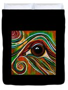 Inner Strength Spirit Eye Duvet Cover