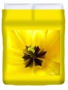 Inner Tulip Macro Duvet Cover