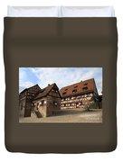Inneryard Kaiserburg - Nuremberg Duvet Cover