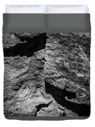 Inscription Rock 30 Duvet Cover