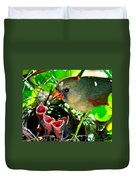 Insect For Diner Agaain Duvet Cover