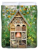 Insect Hotel Duvet Cover
