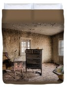 Inside Abandoned House Photos - Old Room - Life Long Gone Duvet Cover