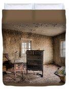 Inside Abandoned House Photos - Old Room - Life Long Gone Duvet Cover