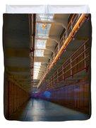Inside Alcatraz Duvet Cover