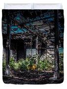 Inside An Abandon Building Duvet Cover
