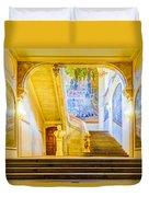 Inside Capitole De Toulouse Duvet Cover
