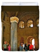 Inside Church Of Saint Nicholas In Myra-turkey Duvet Cover