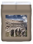 Inside Colosseum Duvet Cover