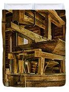 Inside Mingus Grist Mill Duvet Cover