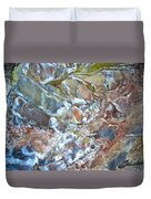 Inside Painted Cave In Lava Beds National Monument-california Duvet Cover