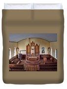 Inside St Olaf Lutheran Church Duvet Cover